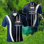 Samoa Special Style All Over Print Polo Shirt