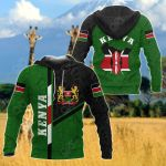 Jamhuri Ya Kenya All Over Print Hoodies