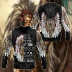 Wolf Native America Style All Over Print Shirts