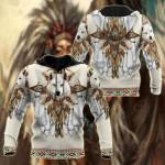 Native Spirit Wolf All Over Print Shirts