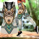 Native Spirit Wolf Hollow Tank Top Or Legging