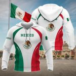 Mexico Coat Of Arms New Style All Over Print Hoodies