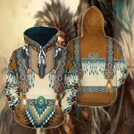 Native American Spirit Dancer All Over Print Hoodies