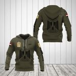 Customize Egypt Coat Of Arms Hoodies