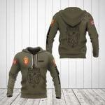 Customize Norway Coat Of Arms Hoodies