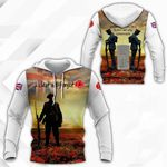 On The Hour Of The 11th Month When The Guns Fell Silent, We Will Remember All Over Print Hoodies