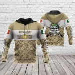 Customize Irish Army Special All Over Print Hoodies