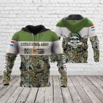 Customize Luxembourg Army Special All Over Print Hoodies