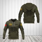 Customize Portugal Coat Of Arms Hoodies