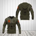 Customize Russia Coat Of Arms Hoodies