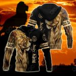 Customize July King Lion All Over Print Shirts