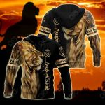Customize August King Lion All Over Print Shirts