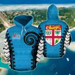 Fiji Warrior Style All Over Print Hoodies