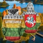 Lithuania New Style All Over Print Hoodies