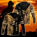 Customize April King Lion All Over Print Shirts