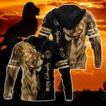 Customize January King Lion All Over Print Shirts