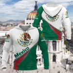 Mexico Style - Coat Of Arms All Over Print Hoodies