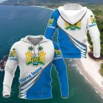 Sierra Leone Style - Coat Of Arms All Over Print Hoodies