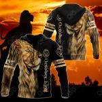 Customize October King Lion All Over Print Shirts