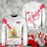United Kingdom Christmas Coat Of Arms X Style Sweatshirt