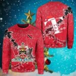 Trinidad And Tobago Christmas Coat Of Arms X Style Sweatshirt