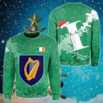 Ireland Christmas Coat Of Arms X Style Sweatshirt