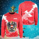 Austria Christmas Coat Of Arms X Style Sweatshirt