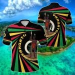 Vanuatu Rugby Creative Style All Over Print Polo Shirt