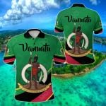 Vanuatu Rugby Simple Style All Over Print Polo Shirt