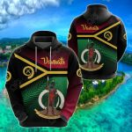 Vanuatu Rugby Proud Vibes All Over Print Shirts