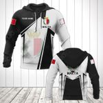 Customize Malta Coat Of Arms Black New Form All Over Print Hoodies