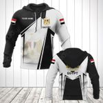 Customize Egypt Coat Of Arms Black New Form All Over Print Hoodies