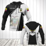 Customize Ecuador Coat Of Arms Black New Form All Over Print Hoodies