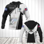 Customize Cuba Coat Of Arms Black New Form All Over Print Hoodies