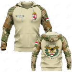 Customize Hungary Camo All Over Print Hoodies