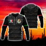 Customize Mexico New Version All Over Print Hoodies