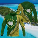 (Kuki Arirani) Cook Islands Map Generation All Over Print Hoodies