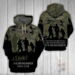 Australian Army Veteran All Over Print Hoodies