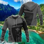 Hawaii King Kanaka Maoli Polynesian Sport - Premium Style All Over Print Hoodies