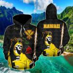 Hawaiian King Guardian All Over Print Hoodies