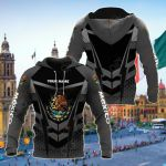 Customize México Coat Of Arms New Style All Over Print Hoodies