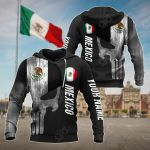 Customize Mexico Skull Version All Over Print Hoodies