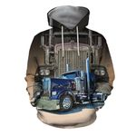 Big Truck - Semi Truck All Over Print Shirts