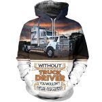 Truck Kenworth All Over Print Shirts