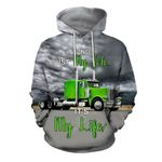 Green Truck All Over Print Shirts