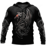 3D Armor Tattoo and Dungeon Dragon HAC130102 All Over Print Shirts