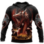 3D Armor Tattoo and Dungeon Dragon HAC140101 All Over Print Shirts