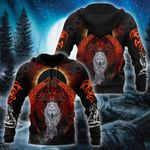 Dragon And Wolf Style All Over Print Shirts