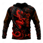 Premium Red Dragon All Over Print Shirts