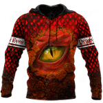 Premium Dragon Eye All Over Print Shirts